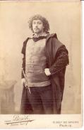 CAB - COMEDIEN  ALBERT LAMBERT  -PH.  VAN BOSCH  BOYER SUCC  PARIS - Personalidades Famosas