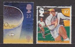 Europa 1991 - Folon: Oeil-lune - GRANDE BRETAGNE - Coupe Du Monde De Rugby - N° 1550 - 1952-.... (Elizabeth II)