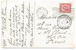 CANADA CARTE DE MONTREAL POUR LA FRANCE DU 11/9/1911 - Briefe U. Dokumente