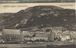 Norway  -  Bergen  Vaagen - Haakonshallen - Walkendorfs Taarn.    S-3191 - Norvegia