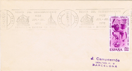 23408. Carta VIGO (Pontevedra) 1972. Regata Del Descubrimiento. Bermuda A Bayona La Real - 1971-80 Lettres
