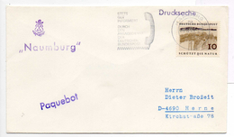 - ALLEMAGNE (Maritime) - Lettre Paquebot Naumburg 1969 - - Marítimo