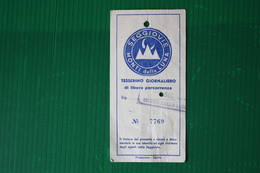 GIORNALIERO CLAVIERE - 1971 - Sport Invernali