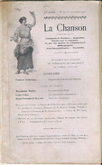 Revue La Chanson N° 10 Octobre 1905 Concours De Chansons Du Caveau Lyonnais - Music