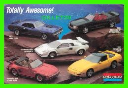 VOITURES TOURISME - CORVETTE 1991, MUSTANG GT 1991, 1971 HEMI CUDA, PORSCHE 991, MONOGRAM CATALOG OFFER - - Voitures De Tourisme