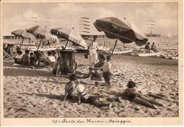 (C).Forte Dei Marmi(LU).Spiaggia.F.to Grande.Viaggiata (c16) - Lucca