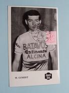 M. GOMERT - Wereldkampioenschap Op De Weg / Terlaemen ZOLDER - 10.8.1969 ( Zie Foto's Voor Detail ) !! - Cyclisme