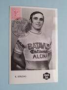 E. STRENG - Wereldkampioenschap Op De Weg / Terlaemen ZOLDER - 10.8.1969 ( Zie Foto's Voor Detail ) !! - Cyclisme