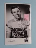 P. GLEMSER - Wereldkampioenschap Op De Weg / Terlaemen ZOLDER - 10.8.1969 ( Zie Foto's Voor Detail ) !! - Cyclisme