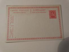 1921-Albert I Carte Postale Neuve 10c - Postales [1909-34]