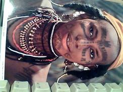TANZANIA RAGAZZA GIRL  TIPICA LANDMADCHEN  TMBRE STAMP PESCE 70 1971 GA12995 - Tanzania