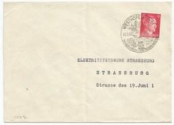 C527 - WESTHOFFEN - 1943 - Cachet Touristique - Alsace - - Deutschland