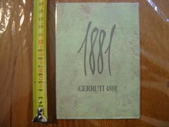 Carte Publicite Parfum 1881 CERRUTI - Perfume Cards
