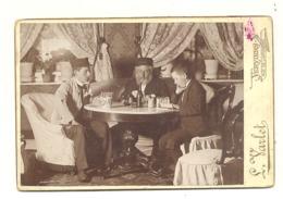 Très Jolie Photo Sur Carton ( Gd Modèle) De Lucien VARLET De VERVIERS En 1893 - Intérieur De Maison - Lieux