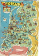 Map Of Holland    Netherlands.  # 05698 - Maps