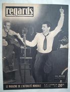 REGARDS :1948 : GRECE .  YVES MONTAND .  AVIATEURS . ACTUALITES .Etc .... - Newspapers