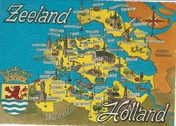 Map Of  Zeeland  Holland    Netherlands.  # 05700 - Maps