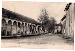 CPA 1912 PRAT PLACE ET ARCEAUX DU LOUVRE - France