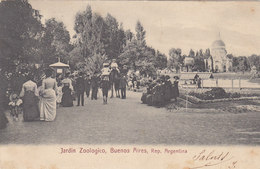 Buenos Aires - Jardin Zoologico - 1911     (A24-110405) - Argentine