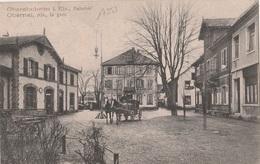 17353# OBERNAI LA GARE OBERENHNHEIM ELSASS 1909 BAS RHIN ALSACE - Obernai