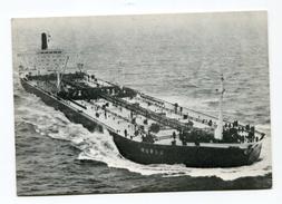 """CPM D'armateur Compagie Pétrolière Shell - Pétrolier """"S/S Murex"""" Tanker - Pétroliers"""