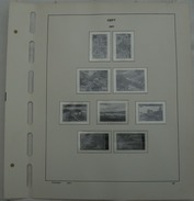 Schaubek Pre-printed Pagina's Postzegels Europa, Cept - Albums & Reliures