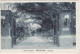 Montevideo - Jardin Botanico - Affranchissement Int.?? - 1930    (A24-110405) - Uruguay