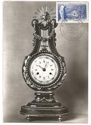 CARTE MAXIMUM 1957 MANUFACTURE DE SEVRES - 1950-59