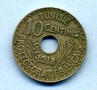 1918 10 CENTIMES - Tunisia