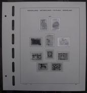 Schaubek Pre-printed Pagina's Postzegels Nederland - Albums & Reliures