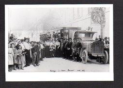 Chemin De Fer / Passage Du Train Renard Mai 1907 / Reproduction Photo ( Fond Neudin( - Trains
