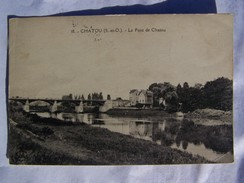 Cp1200 E2  CHATOU (s Et Oise )le Pont De Chatou 1928 - Chatou