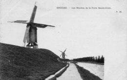 Bruges, Les Moulins De La Porte Sainte-Croix. - Brugge