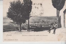 Fiesole Firenze Panorama Di Firenze Dal Convento Di  S. Francesco  1906 - Firenze