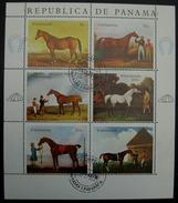 Panama 1968 Horses 1128 - 1133 - Panama
