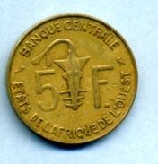 1972  5 FRANCS  BCEAO - Monnaies