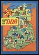 """CAK Gruß Aus Der DDR """"Manöver Waffenbrüderschaft"""" Gel 10.10.1970 A. Mi 1615 - Vari"""