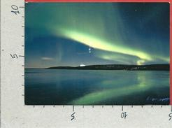 CARTOLINA VG FINLANDIA - Aurora Boreale - 10 X 15 - ANN. 200? - Finlande