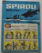 SPIROU N° 1309 Du 16 MAI 1963 UNIQUEMENT Le Mini-récit Alertogas....pour Marathoniens ! - Spirou Magazine