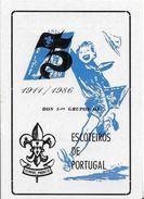 PORTUGAL-Pocket-Calendar-1986-ESCUTEIROS-DE-PORTUGAL - Calendriers