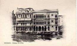 VENEZIA  -  PALAZZO Cà D´Oro, Ediz. Giov. Zanetti, S. Marco Venezia - Venezia (Venice)