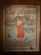 1930 LES ALBUMS JOYEUX : Ces Dames S'amusent (Humour Et Jeux De Mots En Baignade) , Dessins De Harry - Livres, BD, Revues