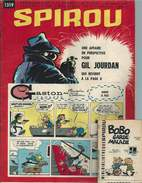 SPIROU N° 1319 Du 25 Juillet 1963. Complet, Avec Son Mini-récit. Pour BOBOLOGUES ! - Spirou Magazine