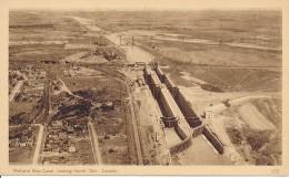 Canada 1932 - Carte Postale Illustré Officiel - Vue 305 - Welland Ship Canal - Construction D'écluses Sur Le Canal - Bridges