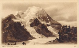 Canada 1932 - Carte Postale Illustré Officiel - Vue 458 - Mount Robson Avec Glacier - 1903-1954 Kings