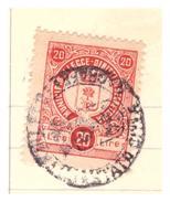 Lecce. 1959. Marca Municipale Diritti Di Segreteria L. 20, Su Certificato Di Cittadinanza - Italia