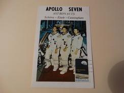 U.S.A-FDC Apollo 8(apollo Seven Astronauts Schirra,Eisele,Cunningham) - Astrology