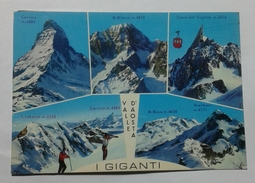 VALLE D' AOSTA - I GIGANTI (7199) - Italie