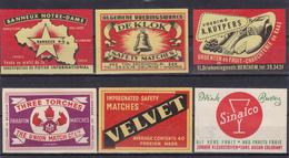 Etiquettes Produits Divers Belgique, Voir 6 Scan. - Nutella