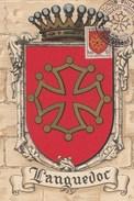 FRANCE  CARTE MAXIMUM  N° 603  LANGUEDOC   OBLITERATION CARCASSONNE - Maximum Cards